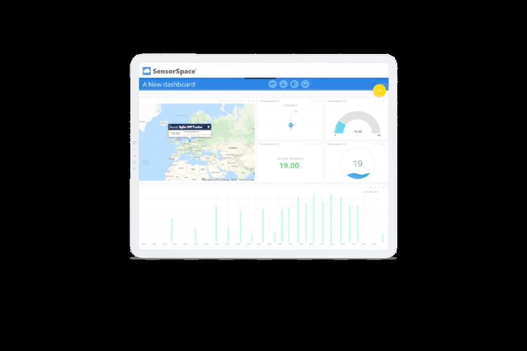 SensorSpace Dashboard