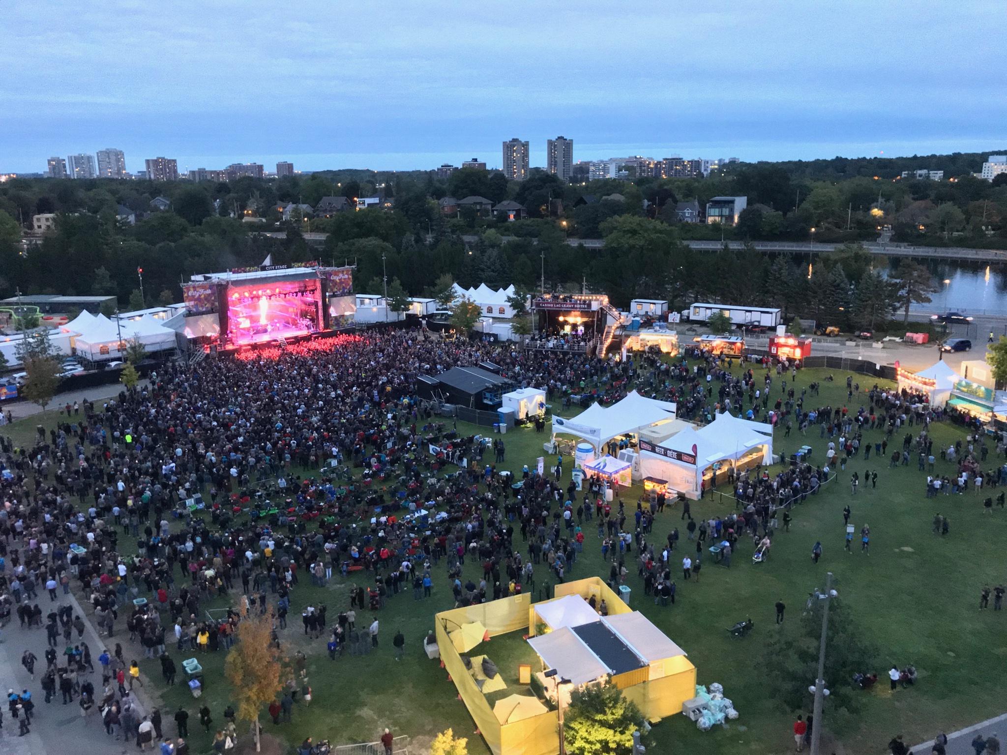 City Folk Festival, Ottowa, Canada